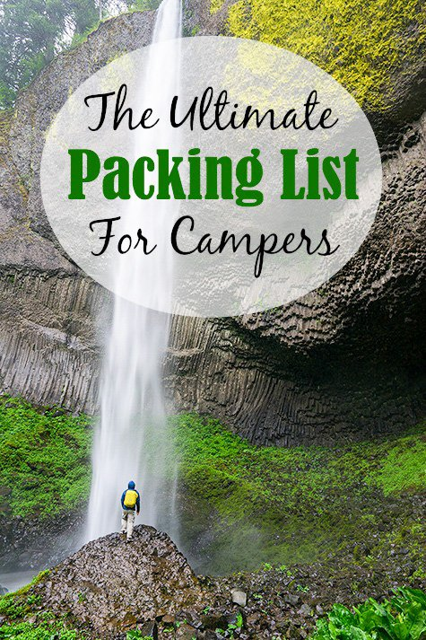 The Ultimate Packing List for Campers (Must-Have Essentials!)