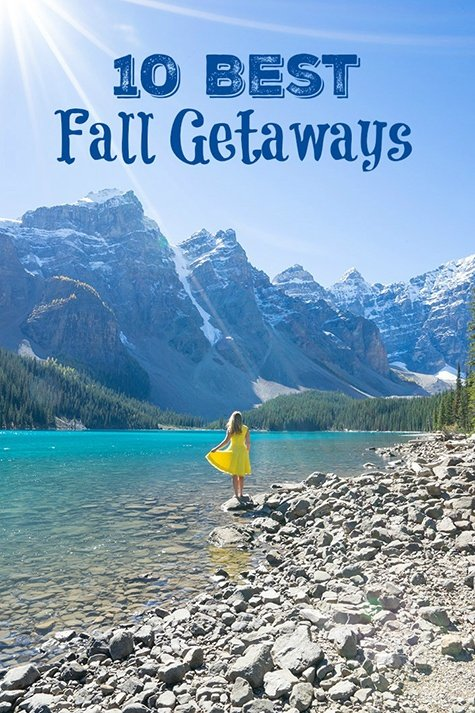 10 Best Getaways to Take this Fall