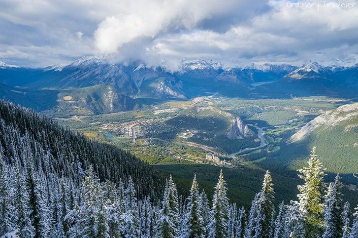 Banff Gondola View - Alberta, Canada