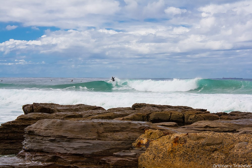 Mereweather Beach, East Coast of Australia