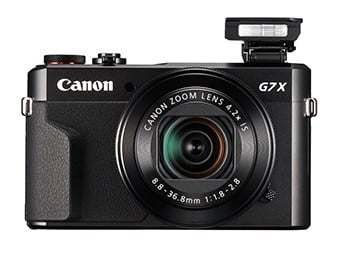 Best Compact Travel Cameras - Canon G7 X Mark II