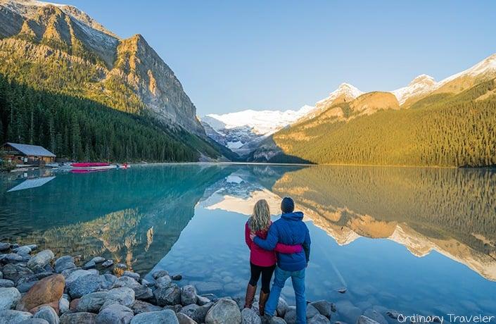 Lake Louise Sunrise - Alberta, Canada