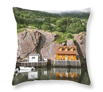 Travel Throw Pillows - Home Decor