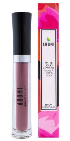 Aromi natural matte liquid lipstick travel beauty products