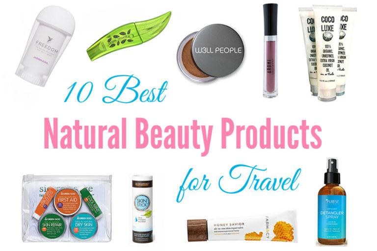 Best Natural Beauty Products for Travel