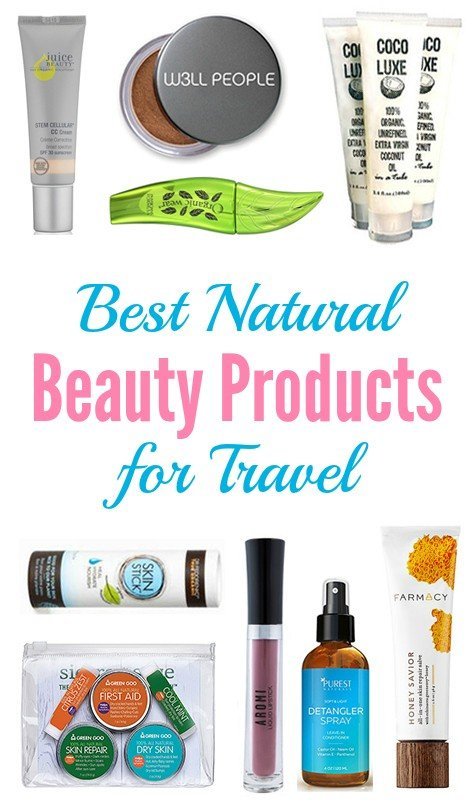 The Best Natural Beauty Products for Travel
