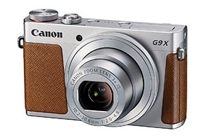 Best Travel Cameras 2017 Canon PowerShot G9 X