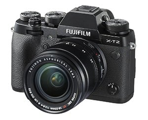 Best Mirrorless Travel Cameras Fuji XT-2