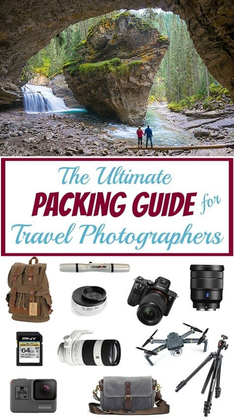 Travel Photographer Packing List