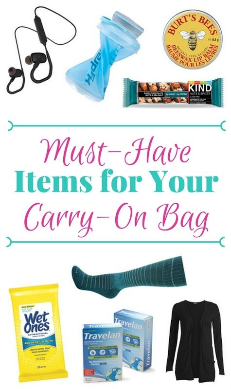 6 Must-Have Items for Your Carry-On Bag