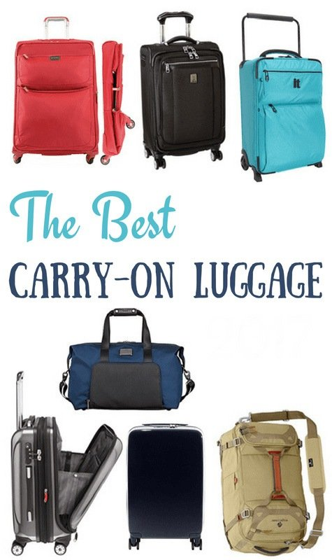 Best Carry-On Luggage of 2018 (For Every Type of Traveler)