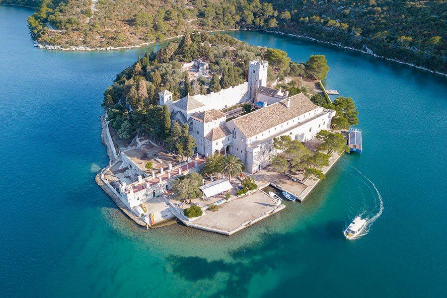 Mljet National Park Croatia - Big Lake
