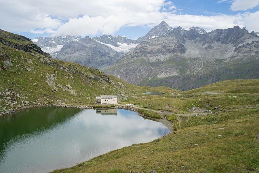 Schwarzsee Lake in Zermatt, Switzerland