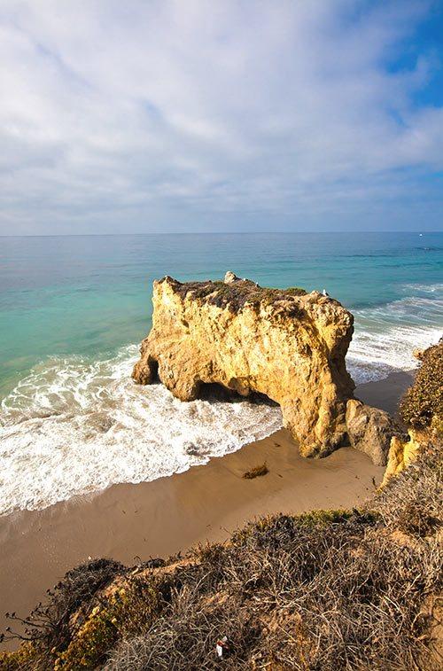 El Matador Beach in Malibu, California
