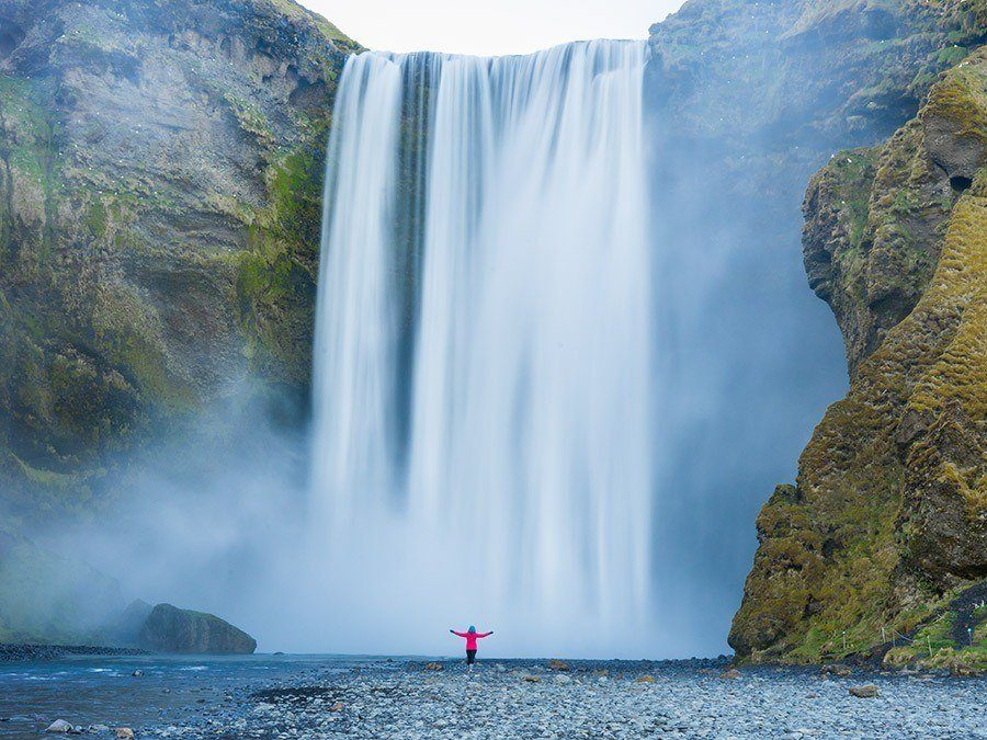 Best Photo Locations in Southern Iceland - Skogafoss Waterfall