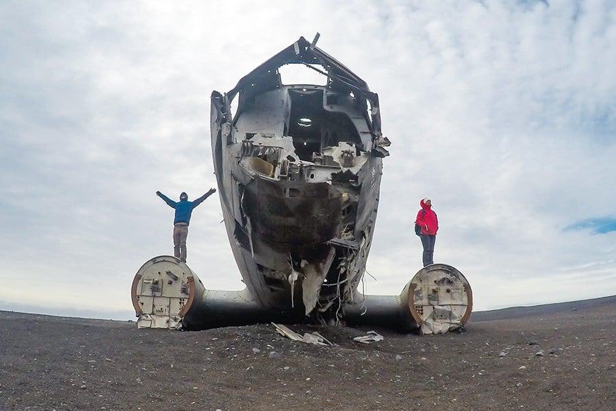 Sólheimasandur Airplane Wreck