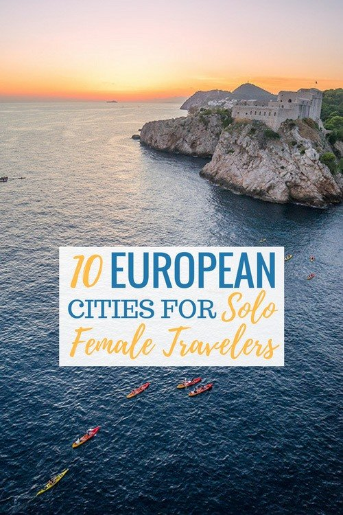 10 Best Places in Europe For Solo Female Travelers