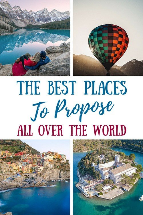 The Best Places To Propose In The World