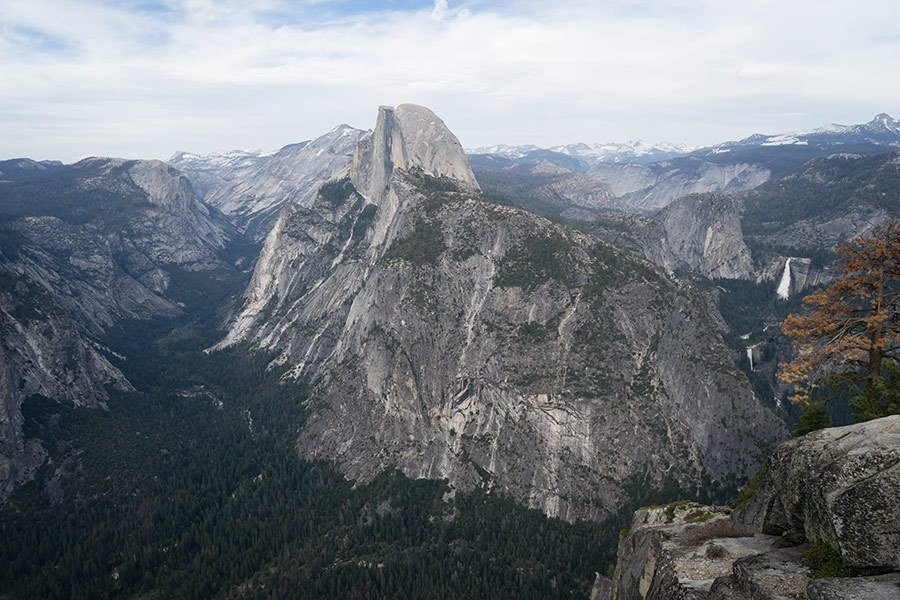 Half Dome Trail Yosemite National Park