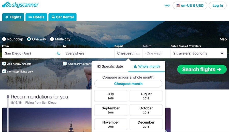 How To Book The Cheapest Flights To Anywhere