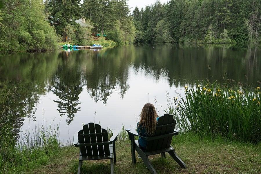 Lakedale Resort on San Juan Island, Washington