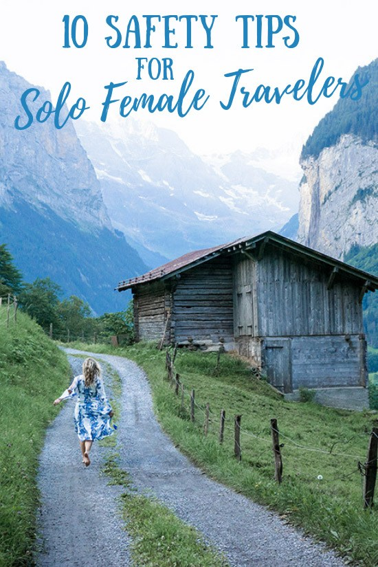 10 Important Safety Tips for Solo Female Travelers