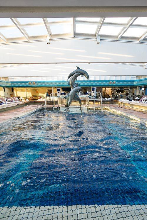 Maasdam Holland America Indoor Pool