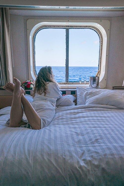 Ocean View Room on Maasdam Ship Holland America