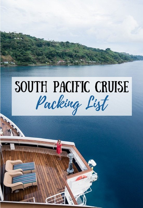 South Pacific Cruise Packing List (Must Have Essentials!)