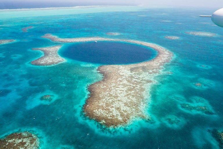 Booking a Blue Hole Scenic Flight Tour in Belize