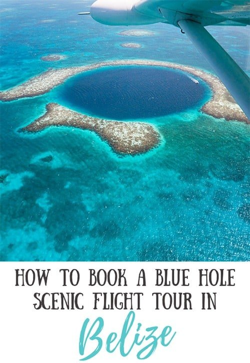 Booking a Blue Hole Flight Tour in Belize