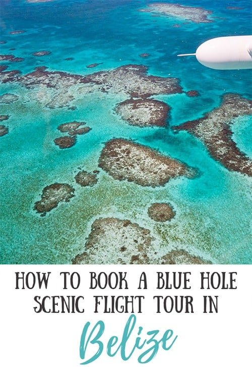 How to Book a Blue Hole Scenic Flight Tour in Belize